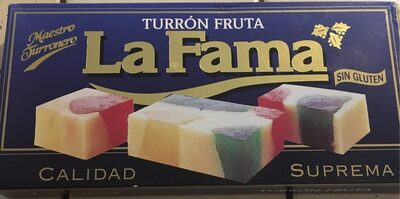 Turrón fruta - Product