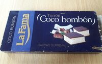 Coco bombon turron - Product - fr