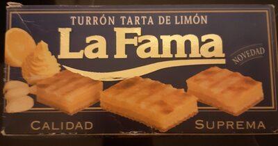 Turron tarta de limon - Product - fr