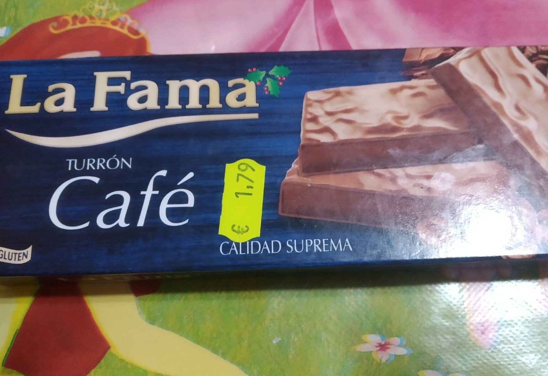 La Fama turrón cafe - Product - es