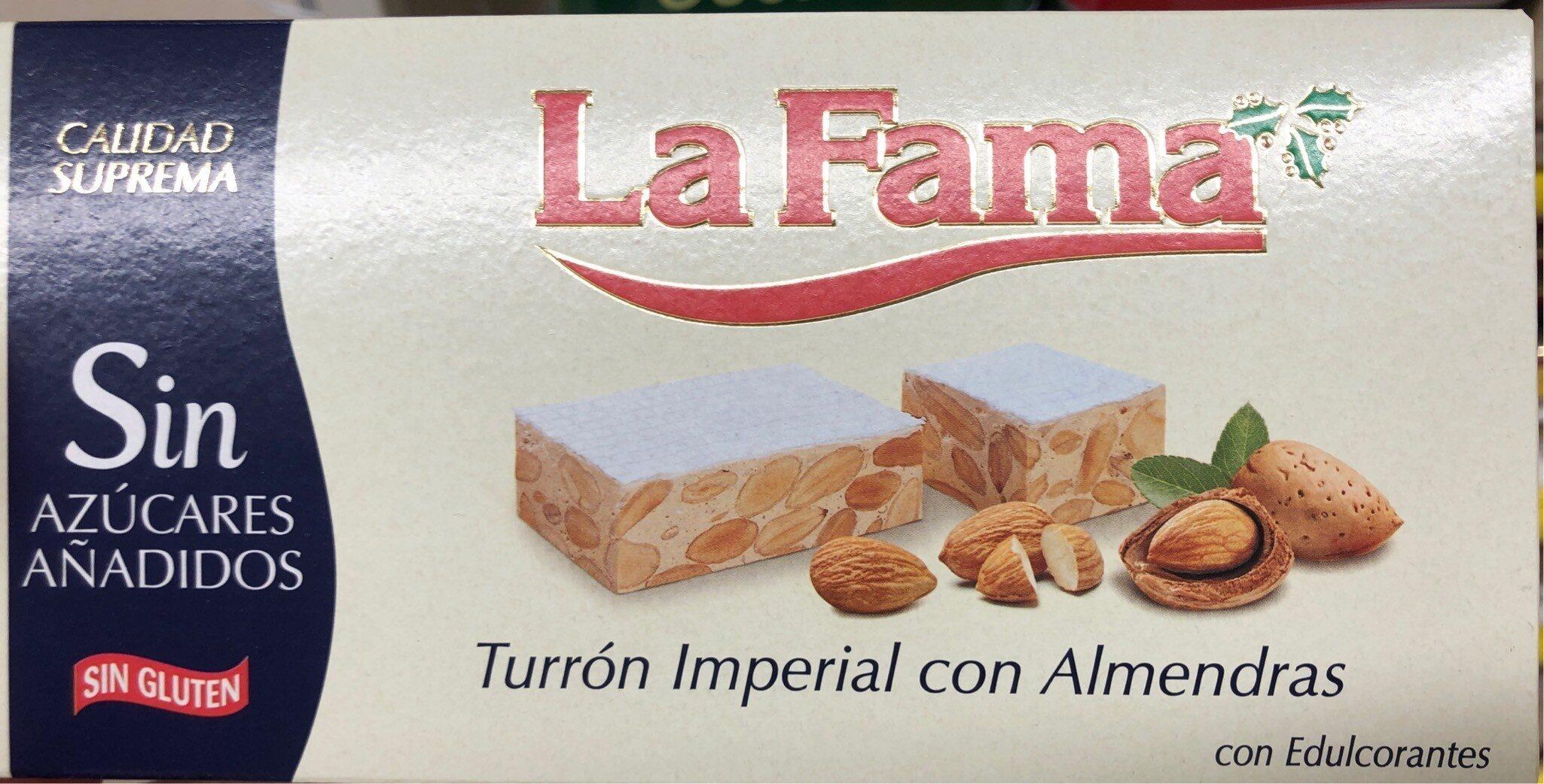 Turrón imperial con almendras - Product - es