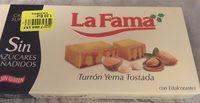 Turrón Yema Tostada - Product - fr
