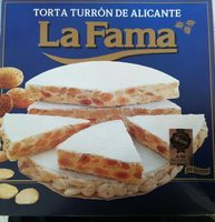 Torta turron de alicante - Product - fr