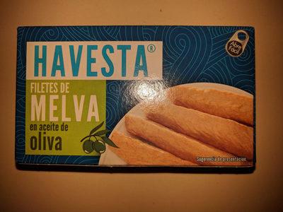Filetes de melva en aceite de oliva - Producto