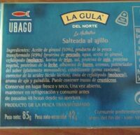 La Gula del Norte Salteada al ajillo - Ingrédients - fr