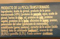 La Gula del Norte Salteada al ajillo - Informations nutritionnelles - es