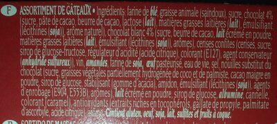 Pastas artesanas - Ingredients - fr