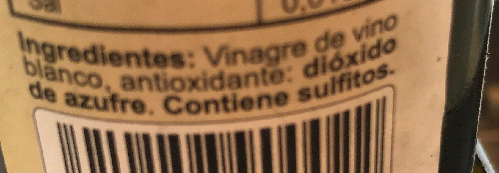 Vinagre de vino blanco - Ingredientes - fr