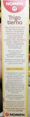 Arroz de trigo tierno - Ingrédients