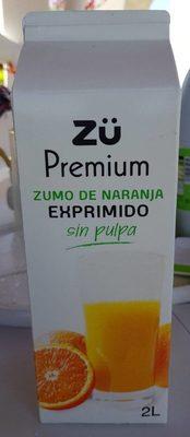 Zumo de naranja - Produit