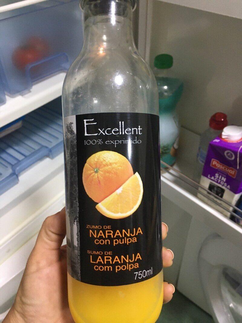 Zumo de naranja con pulpa - Producto