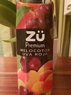MELOCOTON-UVA ROJA  PECHE-RAISIN ROUGE - Product