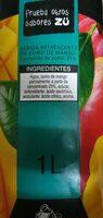Mango - Ingredients - es