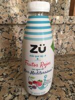 zü frutos rojos agua del mediterraneo - Producte