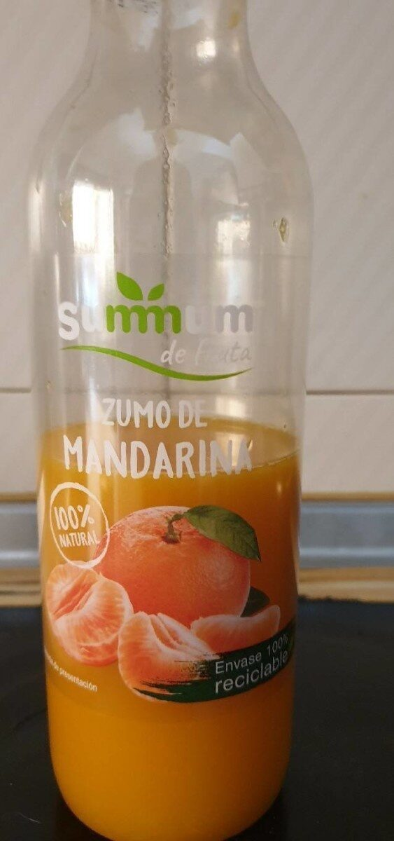 Zumo de mandarina 100% natural - Product - es