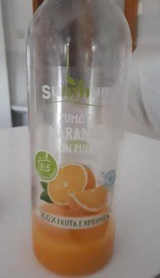 Zumo de naranja con pulpa - Producto - fr