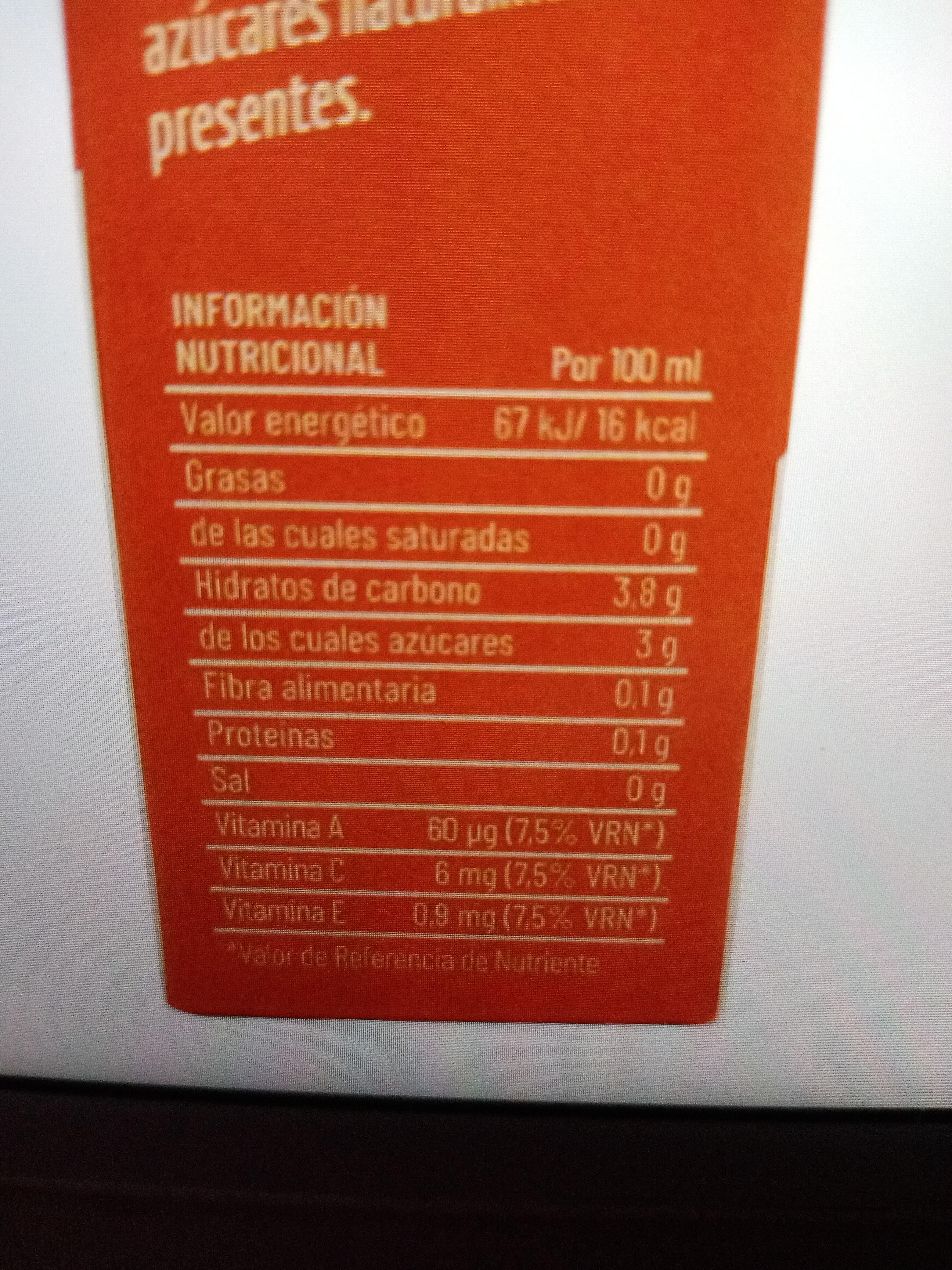 Bebida de avena con zumo - Ingredients - es