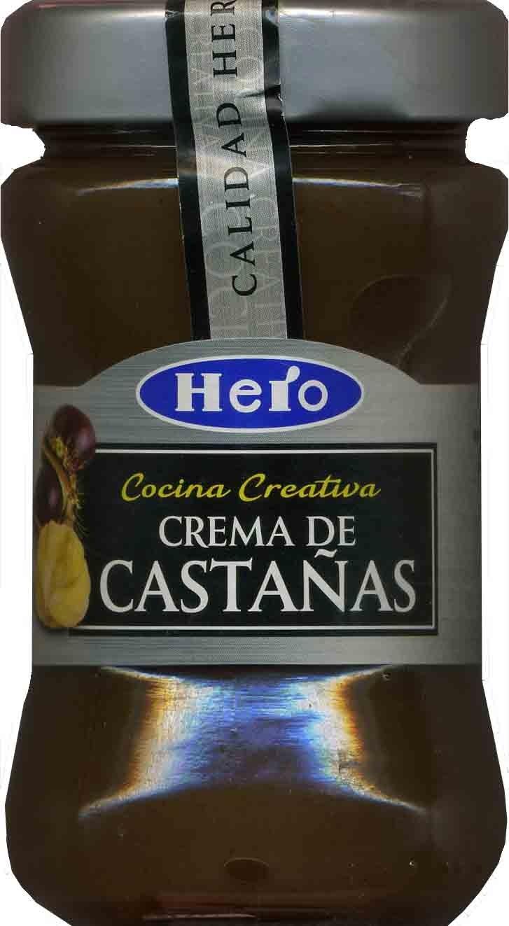 Crema de castañas - Producte