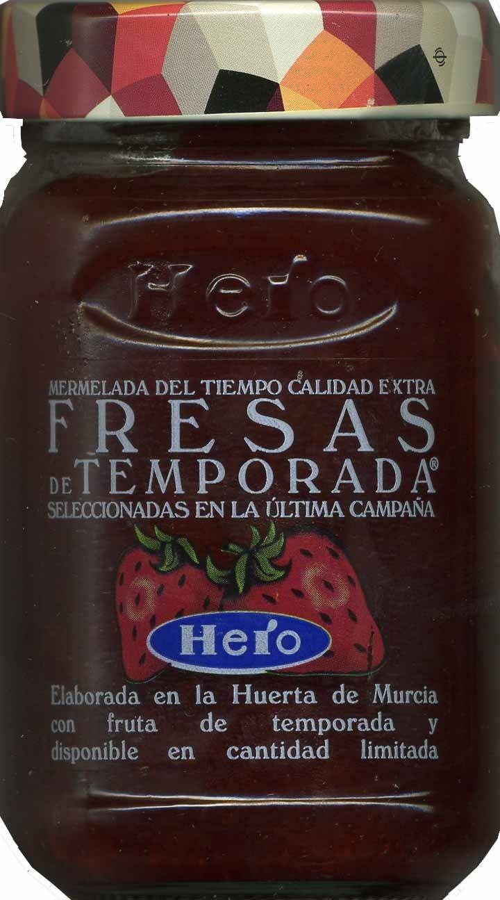 Mermelada de fresas - Producte