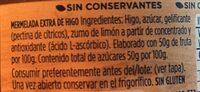 Mermelada De Higo - Ingredients - fr