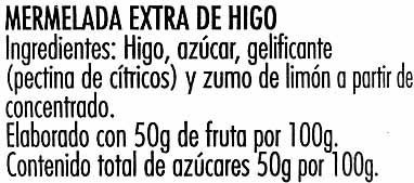 "Mermelada de higos ""Hero"" Temporada - Ingredients"