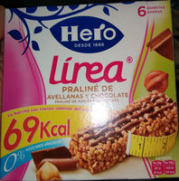 Barreta De Cereals Muesly Línia Praliné Hero - Producto