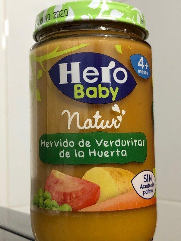 Hervido de verduras de la huerta - Product - es
