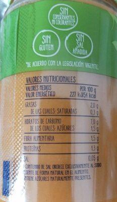 Hervido de verduras de la huerta - Nutrition facts - es