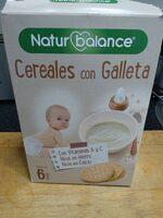 Cereales con Galleta - Producto