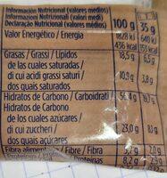 Muesly avena - Informations nutritionnelles - es