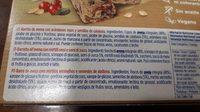 Muesly avena - Ingredientes - es