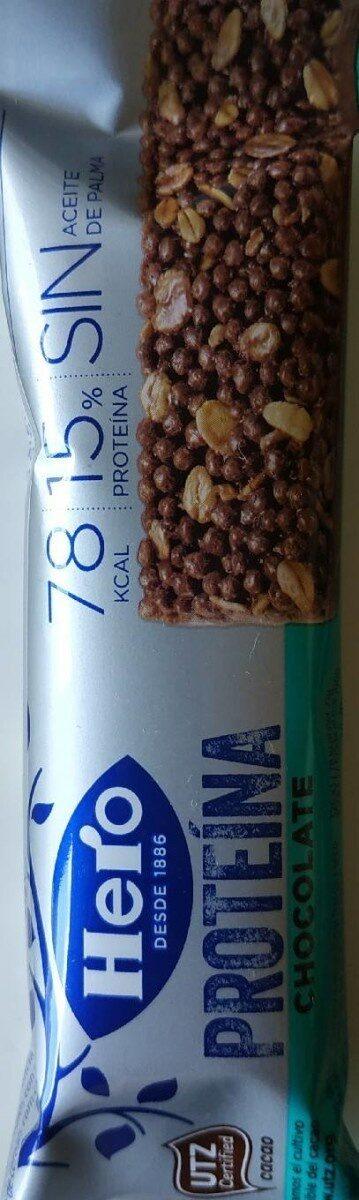 Barrita chocolate proteína - Produit - es