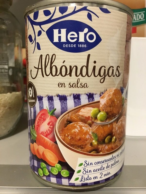 Albóndigas en salsa - Product - es
