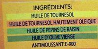Huile Spéciale Friture - Ingrédients - fr