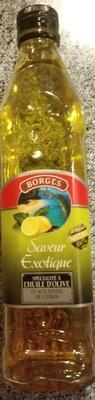 Spécialité à l'huile d'olive et aux zestes de citron - Produit