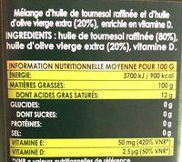 Optima - Ingrediënten