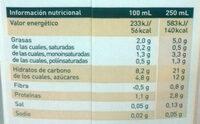 Natura Almendra - Informations nutritionnelles