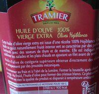 Huile d'olive vierge extra 100 % Olives Hojiblanca - Ingrédients - fr
