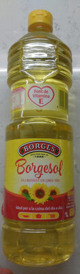 Aceite refinado de girasol botella 1 l - Produit