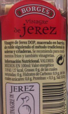 Vinagre De Jerez Frasco - Product - es