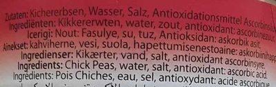 Kikkererwten - Ingrediënten