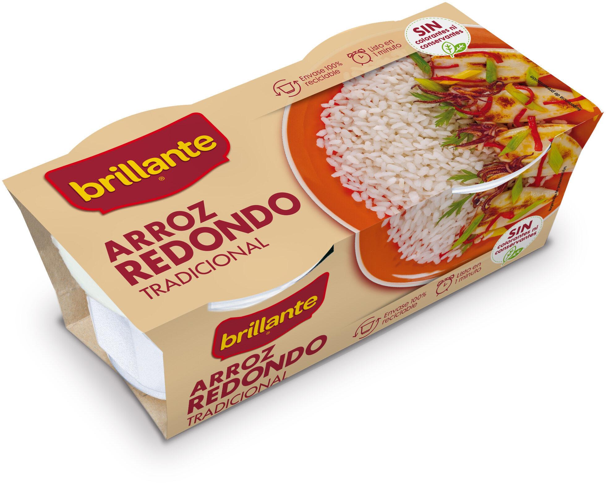 Arroz redondo tradicional cocido para guarnición pack 2 envase 125 g - Producto - es