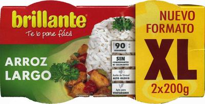 Arroz cocido largo formato xl pack 2 envases 200 g - Producto