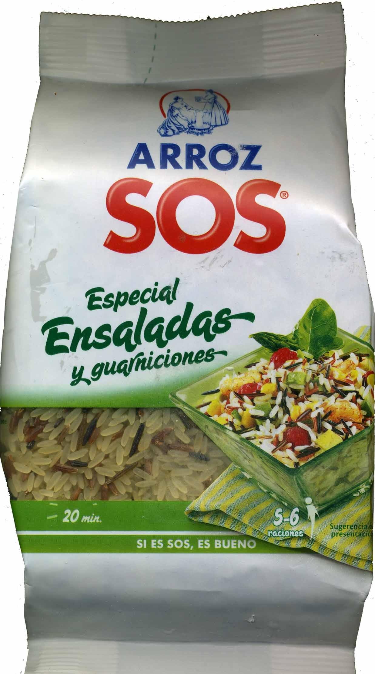Arroz especial ensaladas y guarniciones paquete 500 g - Producte - es