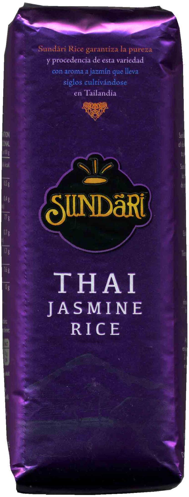 Thai jasmine rice - Producto - es