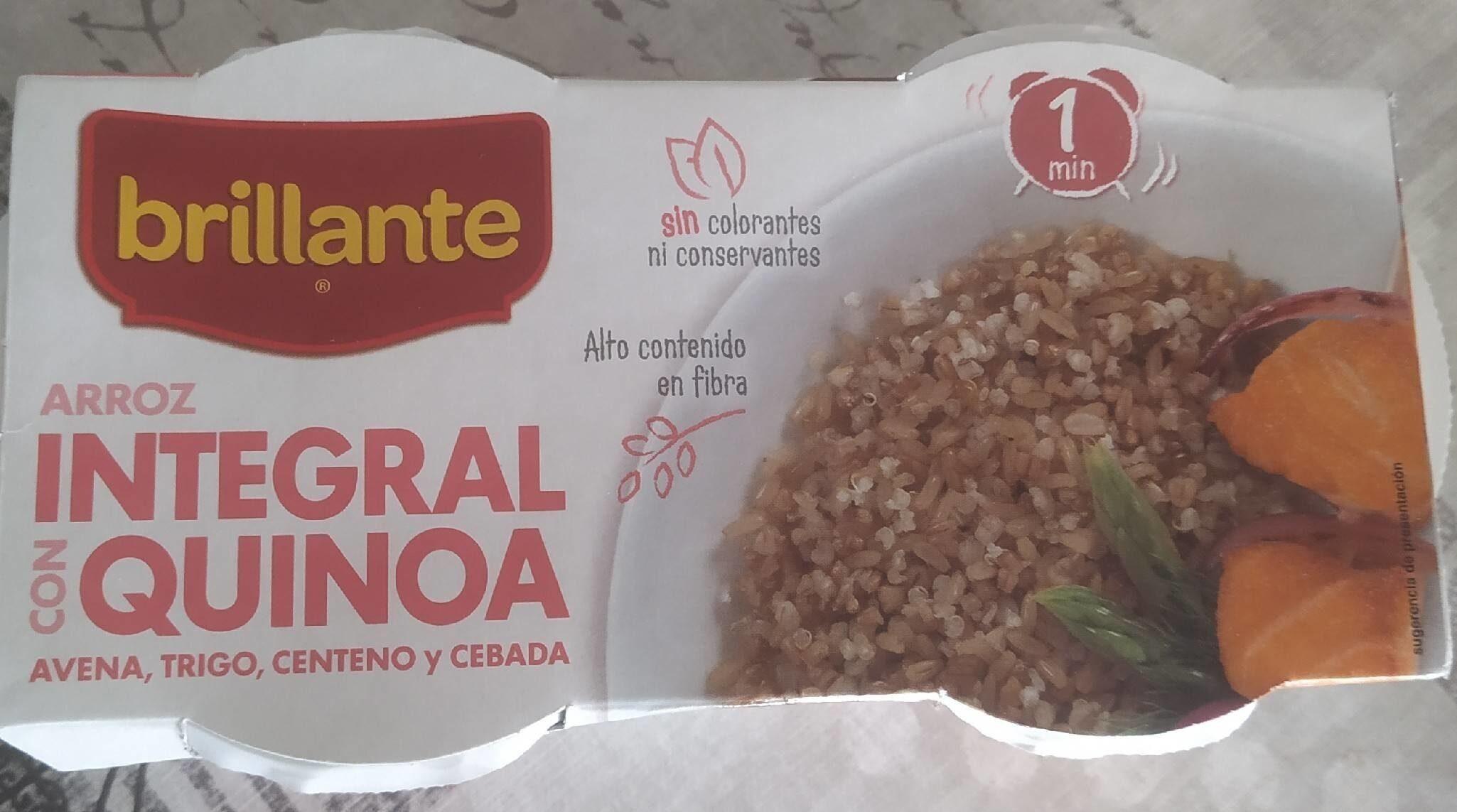 Arroz integral con quinoa - Producte - es
