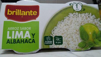 Arroz sabor Lima y albahaca - Información nutricional - es
