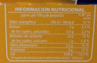 Cous Cous - Nutrition facts - es