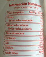 Quinoa Integral et rouge - Voedigswaarden