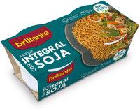 Brillante vasito de arroz integral con soja - Producto - es